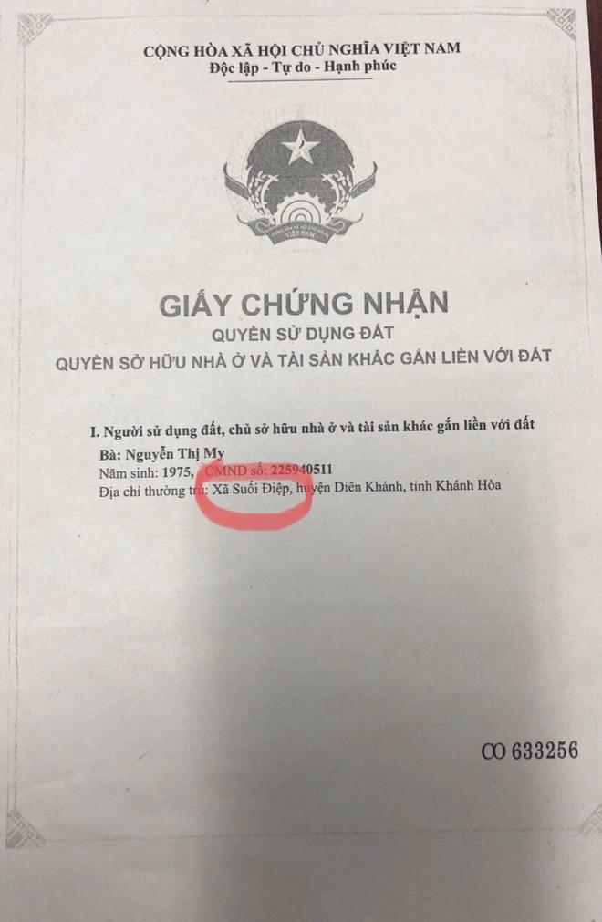 Ma mãnh giao dịch bằng sổ đỏ giả ở Khánh Hòa - Ảnh 1.