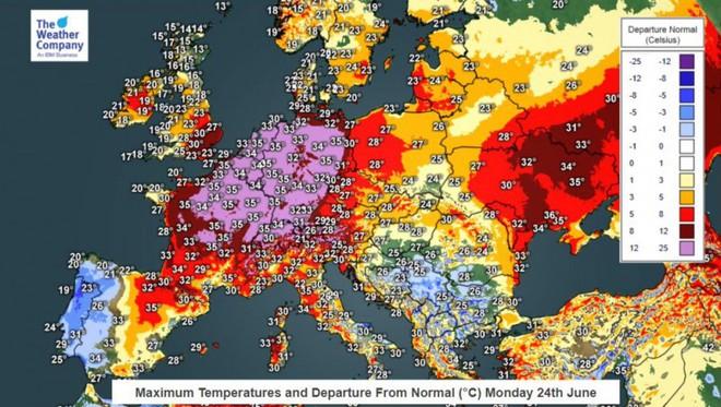 Thảm họa đe dọa cướp đi sinh mạng hàng nghìn người châu Âu trong vài ngày tới - Ảnh 1.