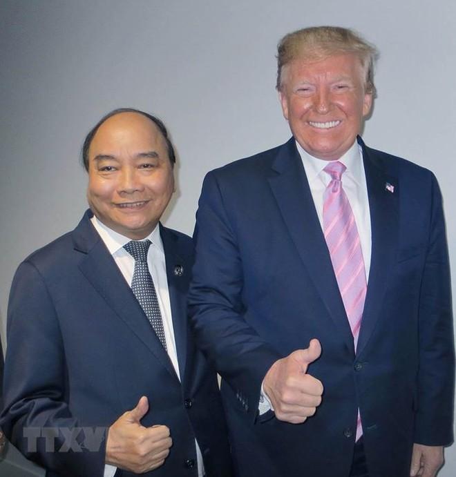 Hình ảnh Thủ tướng tiếp xúc song phương với các nhà lãnh đạo thế giới - Ảnh 1.