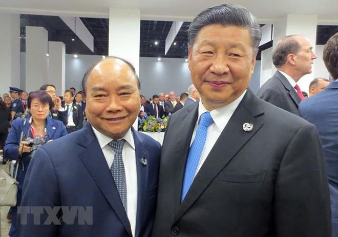 Hình ảnh Thủ tướng tiếp xúc song phương với các nhà lãnh đạo thế giới - Ảnh 2.
