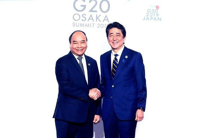 Hình ảnh Thủ tướng tiếp xúc song phương với các nhà lãnh đạo thế giới - Ảnh 4.