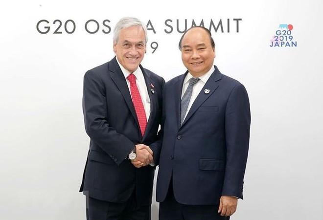 Hình ảnh Thủ tướng tiếp xúc song phương với các nhà lãnh đạo thế giới - Ảnh 5.