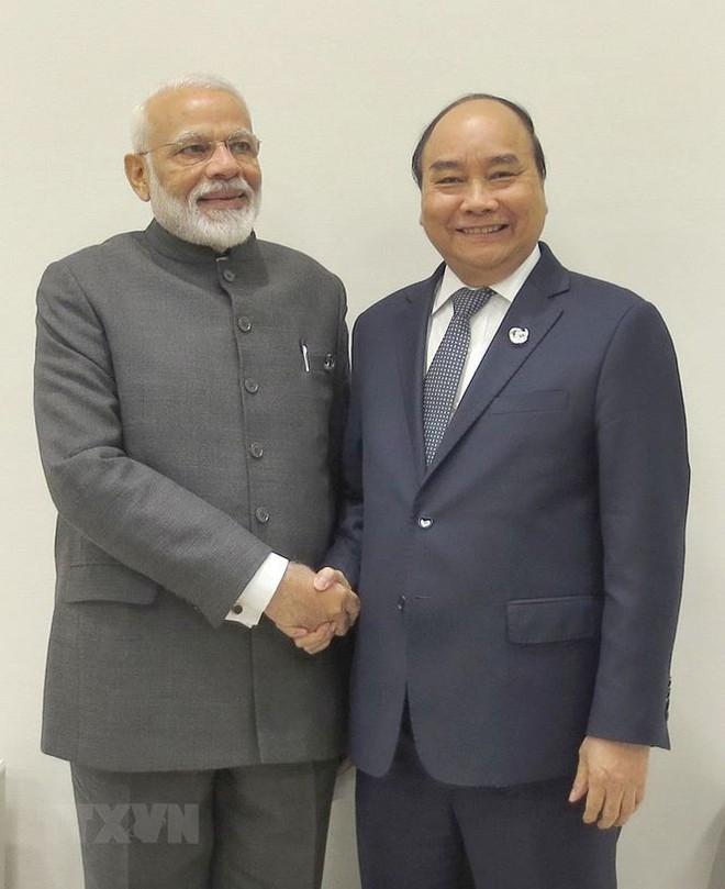 Hình ảnh Thủ tướng tiếp xúc song phương với các nhà lãnh đạo thế giới - Ảnh 6.