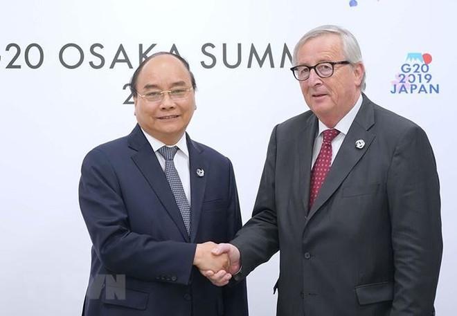 Hình ảnh Thủ tướng tiếp xúc song phương với các nhà lãnh đạo thế giới - Ảnh 7.