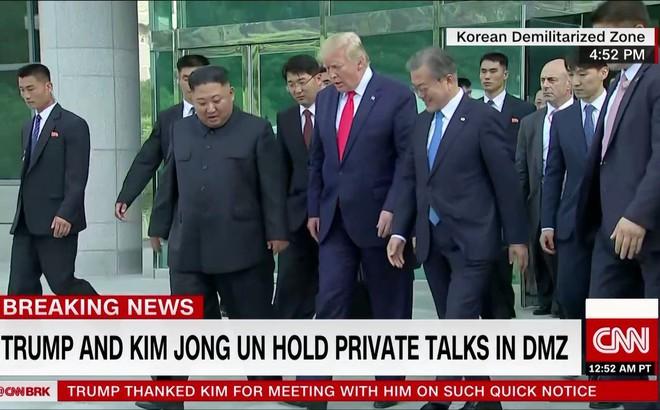 Kết thúc gặp mặt, TT Trump và nhà lãnh đạo Kim Jong-un nhất trí nối lại đàm phán hạt nhân