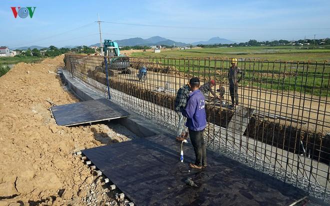 Gấp rút nâng cấp đê tả Bùi tại Hà Nội khi mùa mưa bão đang về - Ảnh 9.
