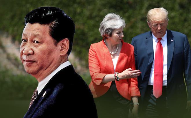 """Liên tục tới thăm các đồng minh xuyên châu lục, ông Trump sắp tung đòn """"hợp vây"""" nhằm vào TQ?"""