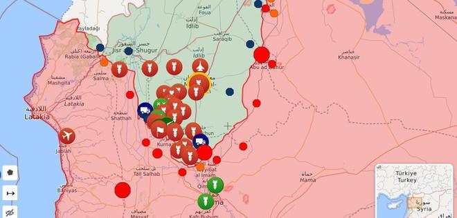 Quân đội Syria thắng lớn, phiến quân sụp đổ hàng loạt - Máy bay trinh sát Mỹ đột ngột xuất hiện - Ảnh 1.