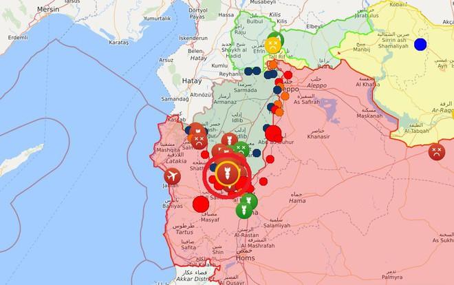 Quân đội Syria thắng lớn, phiến quân sụp đổ hàng loạt - Máy bay trinh sát Mỹ đột ngột xuất hiện - Ảnh 12.