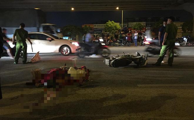 Hà Nội: Xe máy chạy ngược chiều đâm nam thanh niên tử vong