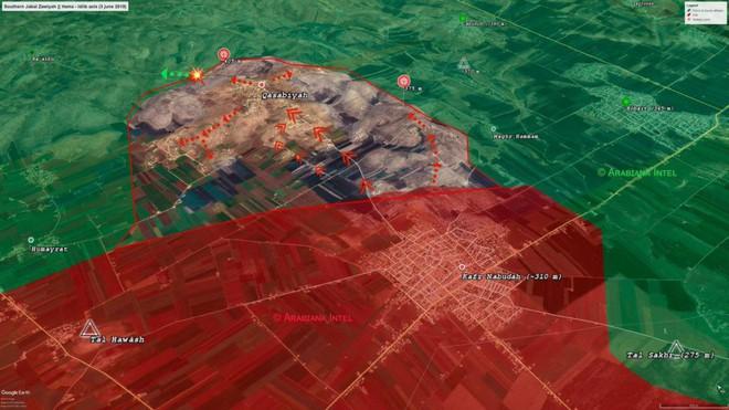 Quân đội Syria thắng lớn, phiến quân sụp đổ hàng loạt - Máy bay trinh sát Mỹ đột ngột xuất hiện - Ảnh 8.