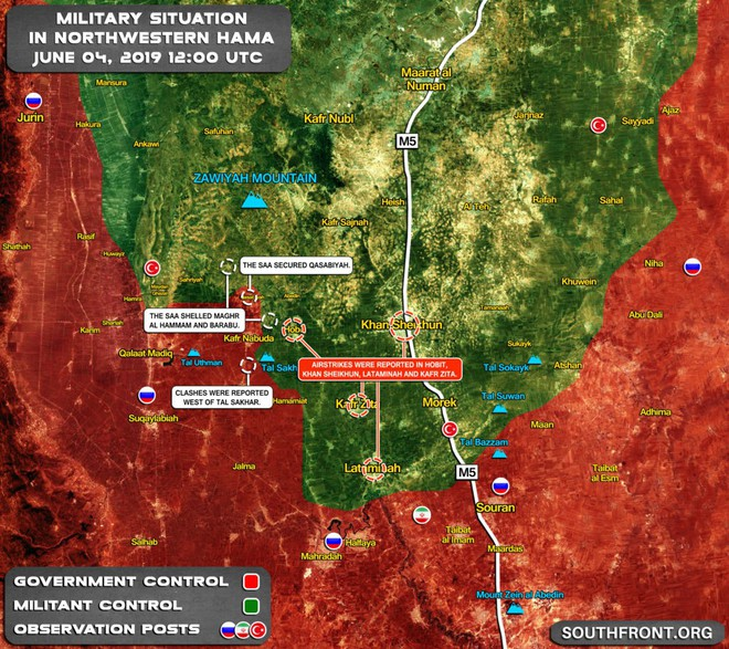 Quân đội Syria thắng lớn, phiến quân sụp đổ hàng loạt - Máy bay trinh sát Mỹ đột ngột xuất hiện - Ảnh 4.