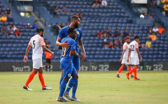 Curacao 3-1 Ấn Độ: Curacao chiếm ưu thế hoàn toàn