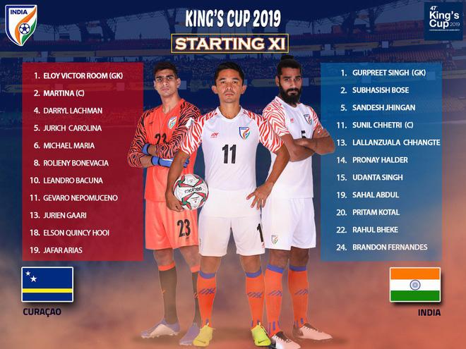 TRỰC TIẾP Curacao 3-1 Ấn Độ: Ngôi sao Premier League ghi bàn cho Curacao - Ảnh 1.