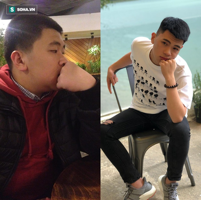Đánh bay 25 kg, chàng trai tiết lộ giảm cân vì thương mẹ, suýt ngất vì hăng chí nhịn ăn - Ảnh 3.