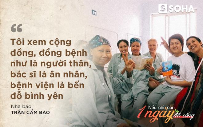 Nhà báo Cẩm Bào 7 năm chiến đấu ung thư: Nếu chỉ còn 1 ngày để sống, tôi sẽ tặng con gái bé bỏng món quà cuối cùng - Ảnh 2.
