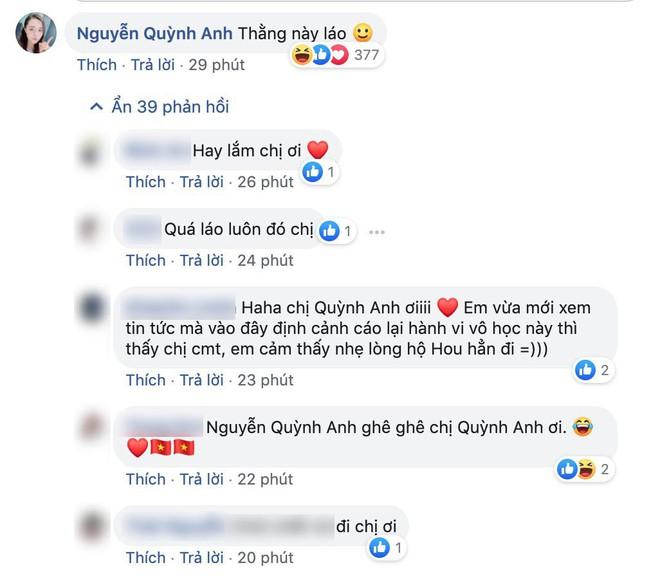 Lây bệnh gắt của người yêu, bạn gái Duy Mạnh vào hẳn Facebook cầu thủ Thái Lan bình luận khiến ai đọc xong cũng choáng - Ảnh 3.