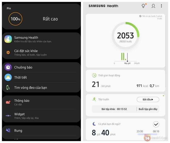 Trên tay Galaxy Fit e: Bé xinh, tự nhận diện hoạt động, chống nước 50m, đọc nhịp tim, màn hình OLED đơn sắc sáng hơn Mi Band - Ảnh 10.