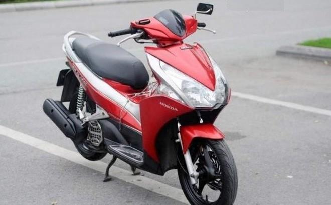 Độc đáo Honda Air Blade biển ngũ quý 1 phát giá 111 triệu đồng