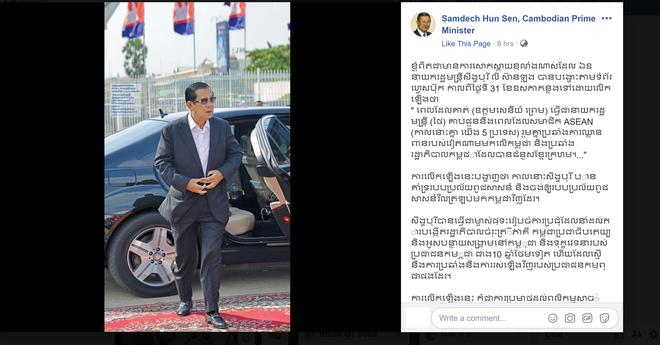 Toàn văn tuyên bố của Thủ tướng Hun Sen: Phát biểu của ông Lý Hiển Long xúc phạm sự hy sinh của quân đội Việt Nam! - Ảnh 1.