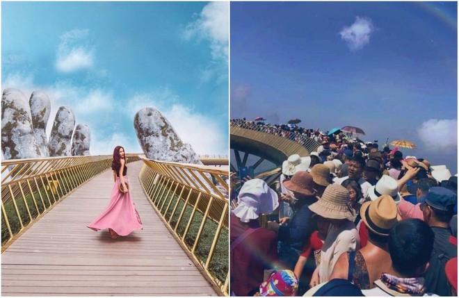 Từ những hình ảnh du lịch trên mạng và thực tế sau đây, bạn sẽ thấy: đời không như là mơ nếu còn trao niềm tin vào... mạng xã hội - Ảnh 1.