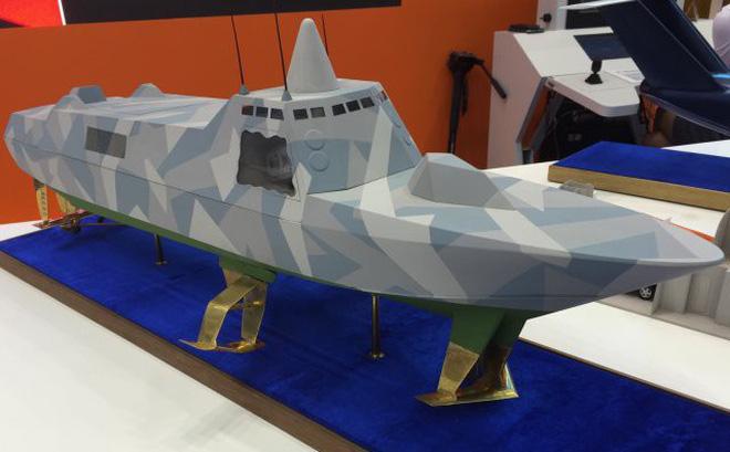 Tàu tên lửa tàng hình Antares RA Nga sao chép Visby Thụy Điển?