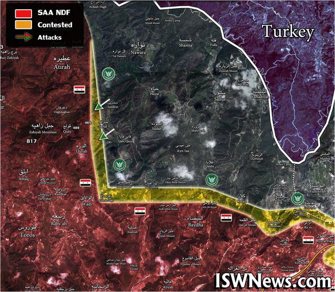 Chiến sự Syria đột ngột nóng: QĐ Syria bất ngờ thua liểng xiểng - Tù binh bị chặt đầu - Ảnh 1.