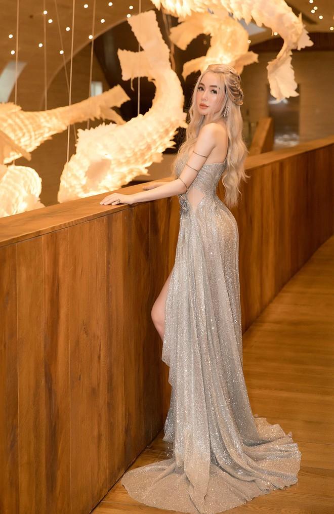 Elly Trần đẹp rạng rỡ, hóa thân thành Mẹ Rồng trong Game of Thrones - Ảnh 1.
