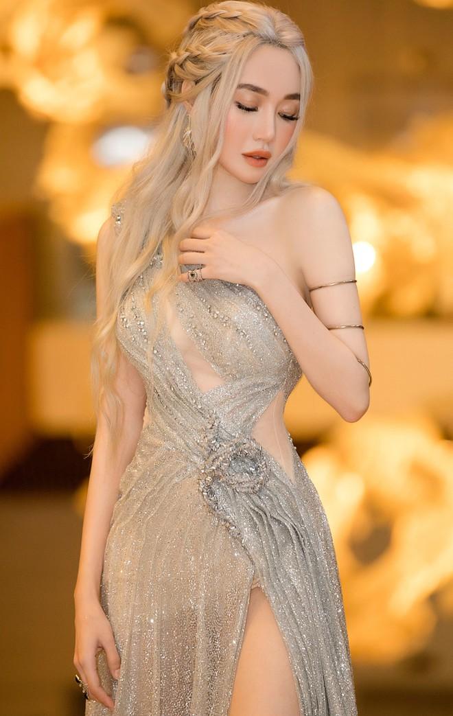 Elly Trần đẹp rạng rỡ, hóa thân thành Mẹ Rồng trong Game of Thrones - Ảnh 3.