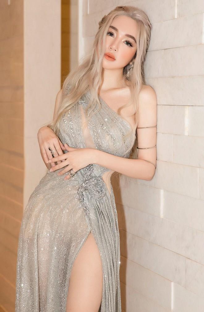 Elly Trần đẹp rạng rỡ, hóa thân thành Mẹ Rồng trong Game of Thrones - Ảnh 4.