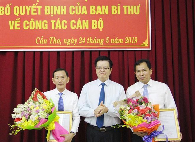 Những nhân sự mới được Bộ Chính trị, Ban Bí thư điều động, luân chuyển - Ảnh 1.