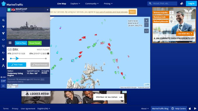 Tàu chiến Anh chĩa pháo cảnh cáo 5 tàu tấn công nhanh Iran - IRGC ra tuyên bố phản bác sắc lạnh - Ảnh 8.