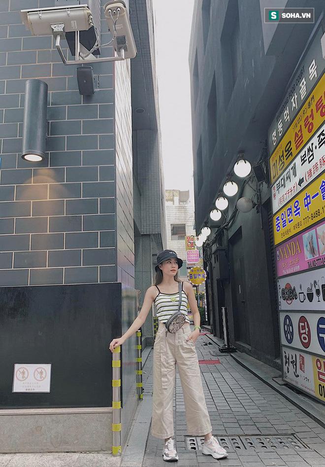 Mặc áo dài trắng được nhận xét giống Chi Pu, cô gái hóa ra là gương mặt quen với thành tích khủng - Ảnh 8.