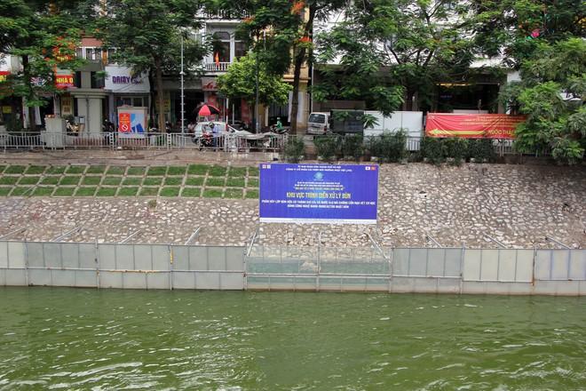 Cận cảnh nước sông Tô Lịch sau 2 ngày hồ Tây mở cửa xả nước - Ảnh 3.