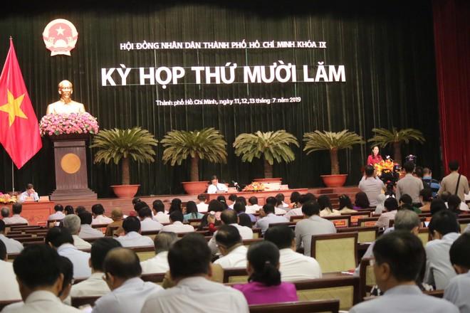 Bầu Phó Chủ tịch HĐND TP HCM còn khuyết tại kỳ họp lần thứ 15 - Ảnh 1.