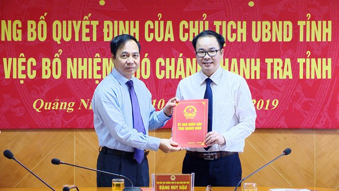 Nhân sự mới Quảng Ninh, Quảng Nam, Cần Thơ - Ảnh 1.