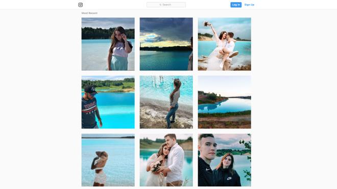 Nhà máy than ở Nga yêu cầu người dùng Instagram đừng tới chụp ảnh tự sướng trong hồ chứa rác thải - Ảnh 1.