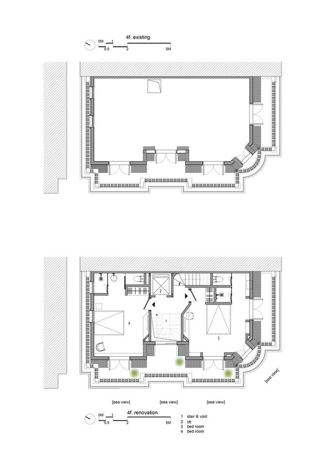 Căn nhà có cầu thang đỏ chẳng giống ai của Việt Nam nổi bật trên báo Mỹ - Ảnh 14.