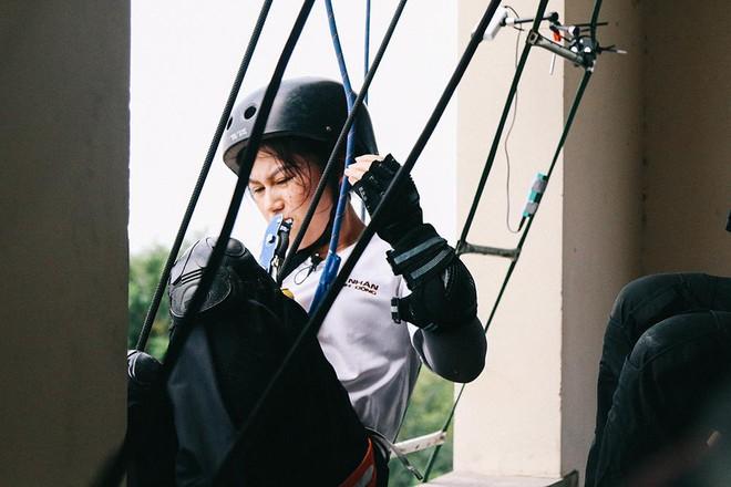 Quỳnh búp bê Phương Oanh gặp nhiều chấn thương khi tham gia gameshow mới - Ảnh 7.