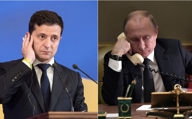 Ukraine gọi, Nga đáp lời: TT Putin bất ngờ điện đàm lần đầu tiên với TT Zelensky