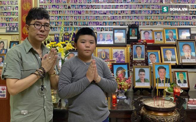 Long Nhật đau xót kể về cuộc sống của con trai cố ca sĩ Vương Bảo Tuấn