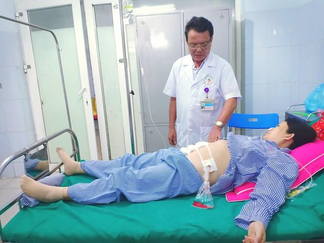 Phát hoảng khi nhìn vào tử cung người phụ nữ mang thai 34 tuần không thể nằm ngửa - Ảnh 1.
