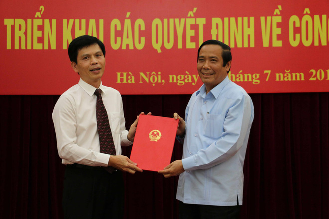 Triển khai quyết định của Thủ tướng, Ban Bí thư về công tác cán bộ - Ảnh 1.