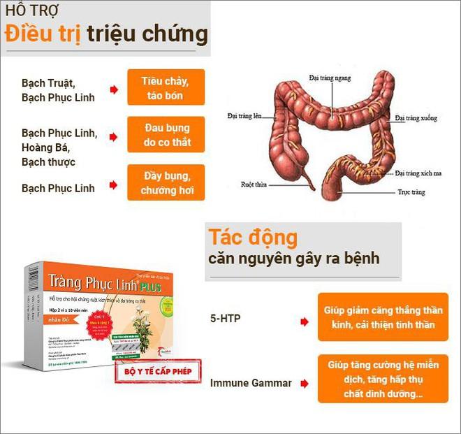 Tràng Phục Linh Plus - Đột phá mới hỗ trợ điều trị viêm đại tràng co thắt của người Việt - Ảnh 4.