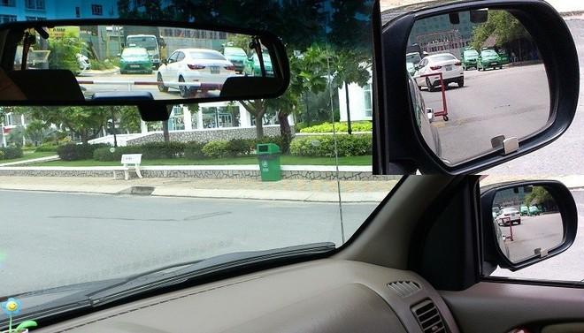 Sử dụng gương chiếu hậu ô tô sao cho đúng cách? - Ảnh 1.