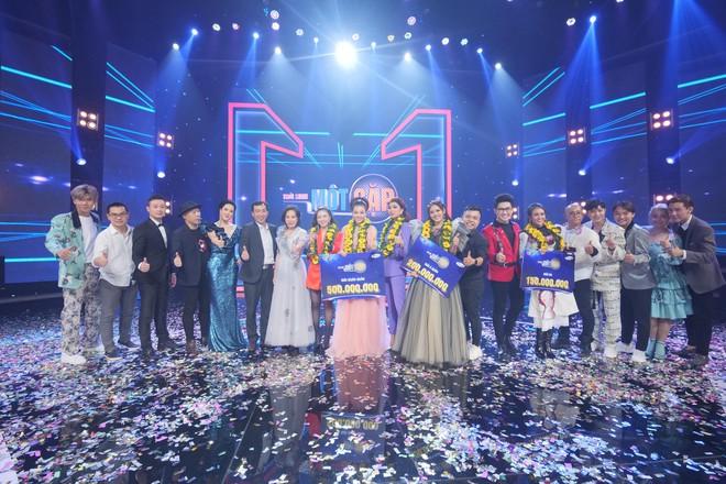 Lan cave Thanh Hương đoạt giải quán quân Trời sinh một cặp mùa 3 - Ảnh 9.