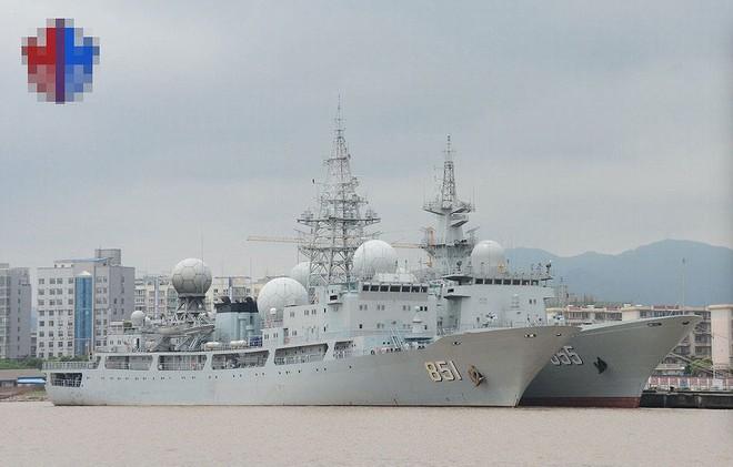 [ẢNH] Tàu trinh sát điện tử Trung Quốc chen ngang cuộc tập trận cực lớn của Mỹ và đồng minh - Ảnh 12.
