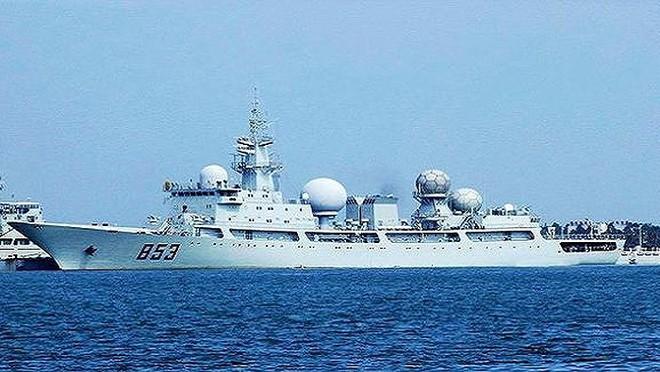 [ẢNH] Tàu trinh sát điện tử Trung Quốc chen ngang cuộc tập trận cực lớn của Mỹ và đồng minh - Ảnh 13.