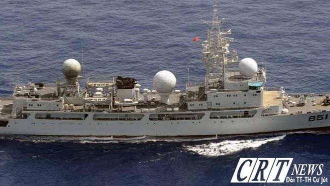 [ẢNH] Tàu trinh sát điện tử Trung Quốc chen ngang cuộc tập trận cực lớn của Mỹ và đồng minh - Ảnh 14.