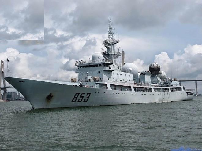 [ẢNH] Tàu trinh sát điện tử Trung Quốc chen ngang cuộc tập trận cực lớn của Mỹ và đồng minh - Ảnh 15.